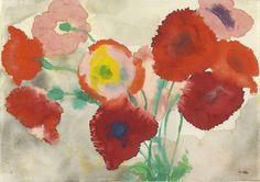 emil nolde - red poppies c.1920