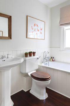 Rustic Bedroom Remodel Mason Jars bedroom remodel before and after accent walls.Kids Bedroom Remodel Built Ins. Yellow Bathrooms, White Bathroom, Small Bathroom, Warm Bathroom, Bathroom Remodel Cost, Bathroom Renovations, Bathroom Makeovers, Sol Sombre, Bathroom Paneling