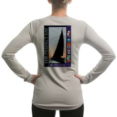 $35.00 cool Altered Latitudes Women's Perfect Day Sailing UPF Long Sleeve T-Shirt