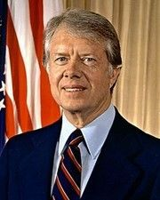 39th US President Jimmy Carter and other 1977 events