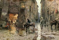 Trastevere - Wikipedia it.wikipedia.org590 × 404Buscar por imagen Via della Lungaretta in un quadro di Ettore Roesler Franz del 1880