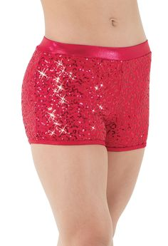Sequin Performance Shorts