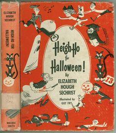 Vintage Book: Heigh-ho for Halloween! By Elizabeth Hough Sechrist