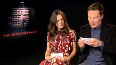 Benedict Cumberbatch & Keira Knightley FUNNY INTERVIEW - YouTube