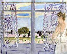 Henri Matisse (1869-1954) Femme auprès de la fenêtre
