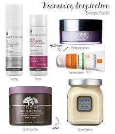 Wednesday Inspiration: Skincare Wishlist