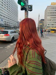 Dye My Hair, New Hair, Red Hair Inspo, Aesthetic Hair, Grunge Hair, Pretty Hairstyles, Hair Inspiration, Curly Hair Styles, Hair Makeup