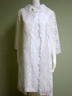 Hey, I found this really awesome Etsy listing at https://www.etsy.com/au/listing/127917402/vintage-wedding-1960s-gown-1960s-lace-2