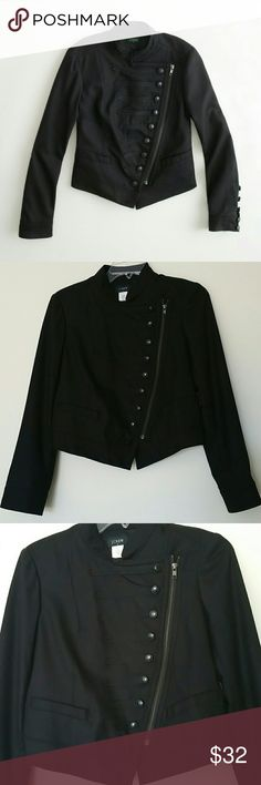 J. Crew factory black majorette jacket J. Crew factory black majorette jacket J. Crew Factory Jackets & Coats