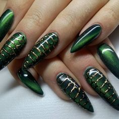 33 best Green Nails | Olive Nails | Lime Green Nail Designs images ...