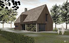 Landelijke schuurwoning in hout | +PEIL