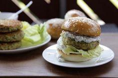 Zucchetti-Kichererbsen-Burger