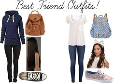 """""""Best Friend Outfits!"""" by rachelhunter78 ❤ liked on Polyvore"""