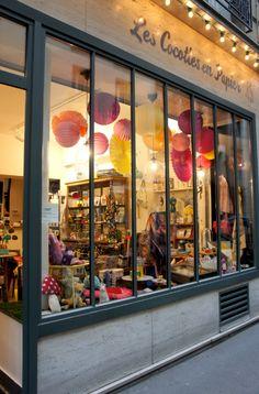 Les Cocottes en Papier shop window