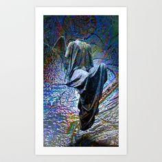 angel15 Art Print by Richard J Wise - $17.68