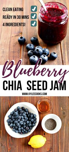 Jam Recipes, Canning Recipes, Brunch Recipes, Breakfast Recipes, Healthy Recipes, Yummy Recipes, Healthy Food, Healthier Desserts, Jelly Recipes