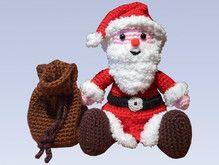 Crochet Pattern Little Santa