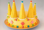 Crown Cake - fit for a prince or princess