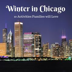 Winter in Chicago: 10 Activities Families will Love | tipsforfamilytrips.com Is the Windy City a good winter destination? Here are 10 winter activities for families visiting Chicago to help you decide.