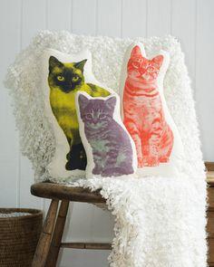 Areaware Siamese Cat Mini Cushion - 2Modern