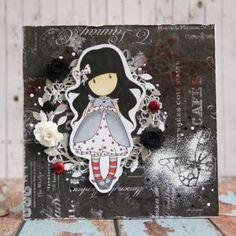 Gorjuss card made by Kate www.katecrafts.com
