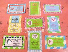 Personalized Call Me Cards by preppypapergirl on Etsy, $14.00