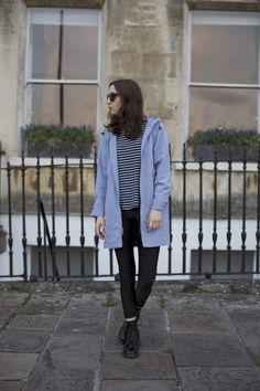 The Style Archive: OUTFIT: AIR BLUE Image by Beth Squire