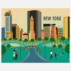 | Central Park Print