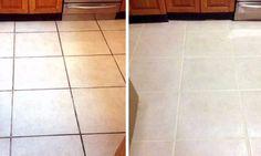 Les joints du plancher sont tout noirs? Essayez l'un de ces 6 ingrédients puissants et constatez la différence!