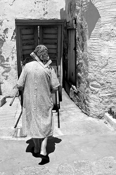 Paros #Grandmother #Greece #Vintage