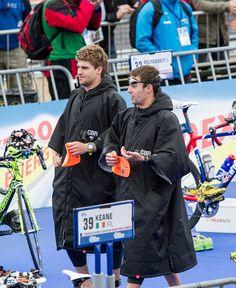 Triathlon ITU Grand final Team GB elites. Team Dryrobe