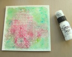 emboss resist with color burst! Frilly and Funkie: Friday Focus - Ken Oliver Color Bursts (Part Two)