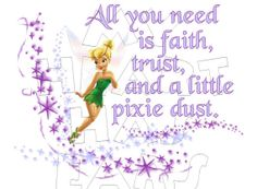 Printable DIY Tinker Bell faith trust and pixie by MyHeartHasEars, $5.00