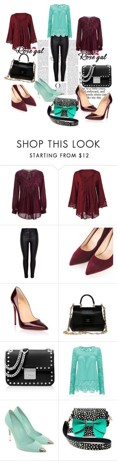 """Rosegal#beautiful#set#"" by fuadaikanovic ❤ liked on Polyvore featuring Christian Louboutin, Dolce&Gabbana, MICHAEL Michael Kors, Gianvito Rossi and Betsey Johnson"