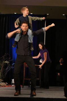 Jensen Ackles. Love this photo