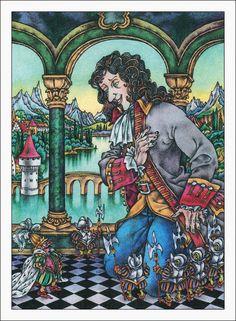 Jonathan Swift. Gulliver's Travels: Gulliver in Lilliput. Illustrator V. Karasev.  В. Карасев, Путешествия Гулливера