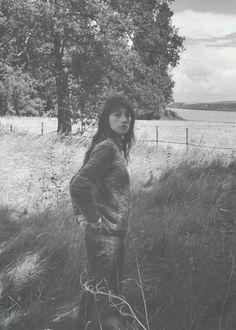 jil-sander:  Charlotte Gainsbourg by Venetia Scott for Self Service #27