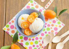 Vegan Fro-Yo (Without an Ice Cream Maker!) - Cultures for Health Homemade Yogurt Recipes, Homemade Sorbet, Whole Food Recipes, Vegan Recipes, How To Peel Peaches, Vegan Yogurt, Agave Nectar, Ice Cream Maker, Frozen Yogurt