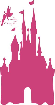 Disney CASTLE 22x42 Tinkerbell Vinyl Decal Wall Lettering Words Princess by ALastingExpression on Etsy