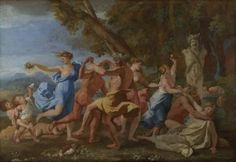 POUSSIN, Nicolas Bacchanal before a Statue of Pan Oil on canvas, 100 x cm National Gallery, London Oil On Canvas, Canvas Art, Canvas Prints, European History, Art History, Poussin Nicolas, The National, Art Français, National Gallery