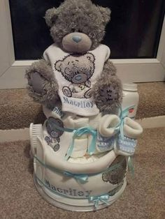 Teddy toy with Teddy bear embroidery design