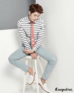 actor, hong jong hyun, and chic image