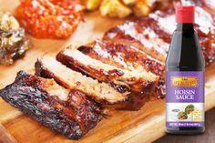 Hoisin Sauce is a tasty marinade for roasted pork ribs!
