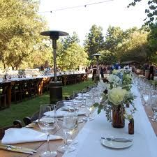 design sponge wedding wood table - Google Search