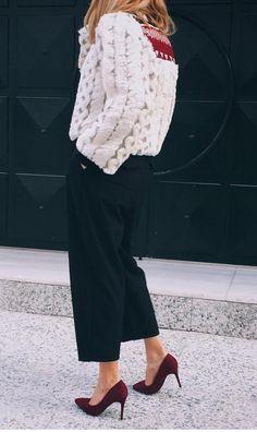 Rita Margari Sweater + culotte