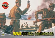 Airfix 1:72 WWII British Commandos