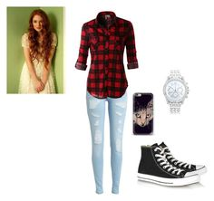 """""""girl ed sheeran"""" by nitaboo3000 on Polyvore featuring LE3NO, Converse and Lane Bryant"""