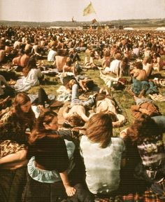 Woodstock 1969, I think I can see my Grannie.