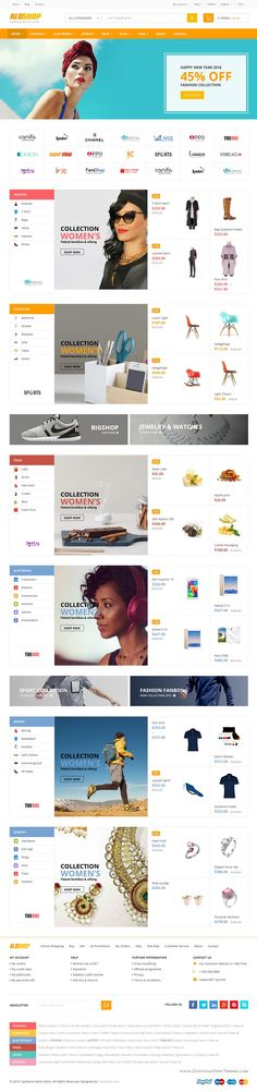 AloShop is stylist WooCommerce WordPress #Theme for multipurpose eCommerce #website. Comes with 12+ homepage style and amazing features. #onlinestore Download Now!