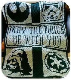 Star Wars Throw Crochet Graphghan Pattern